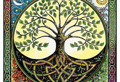 Green Man & Mystical cards
