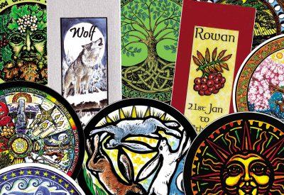 Bookmarks & Window Stickers